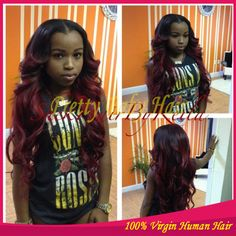 Red-Burgundy-Ombre-Human-Hair-Wigs-Body-Wave-Brazilian-Virgin-Hair-Full-Lace-Lace-Front-Wig.jpg (710×710)