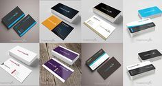 These Free PSD Business Card Templates all are available in PSD (Adobe Photoshop) format and are fully customizable to suit your project design needs, you can easily change logo, color and content.