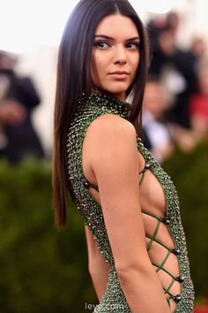 Met Gala 2015 Power Outfits | Kendall Jenner (wearing Calvin Klein Collection): #SheKnowsItsGood