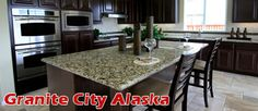 $199 for $1,077 Worth of Granite Countertops from Granite City Alaska http://akrwds.com/zQMdeB