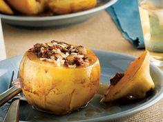 Ayva dolması Baked Potato, Potatoes, Pudding, Baking, Breakfast, Ethnic Recipes, Desserts, Food, Kochen