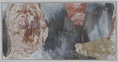 Irina Schuvaloff, Without you II 2014, mixed media on MDF-board