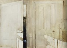 andrew wyeth | open and closed, 1964