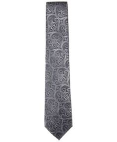 Countess Mara Men's Howard Paisley Tie - Black