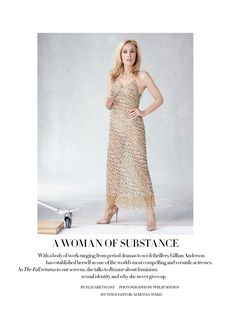 My god at the HOTness that is Gillian Anderson. Please marry me....Out now in the October issue, thanks @BazaarUK! @harpersbazaaruk