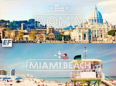 ROMA OR MIAMI BEACH ♥