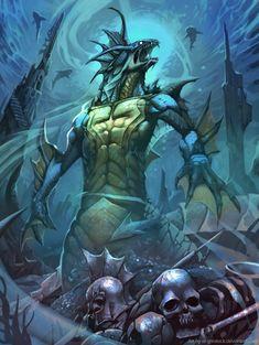 Abyssal monster by *el-grimlock on deviantART