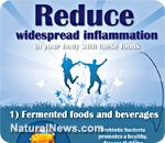 Reduce Widespread Inflamation in Your Body with these Foods - NaturalNews.com