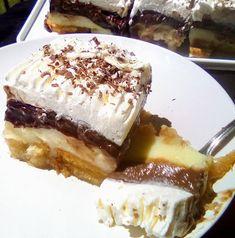 Cookbook Recipes, Cooking Recipes, Greek Sweets, Greek Recipes, Tiramisu, Food Porn, Food And Drink, Baking, Cream