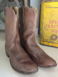 Vintage Laredo short leather Western cowboy by TheDustbowlVintage, £35.00