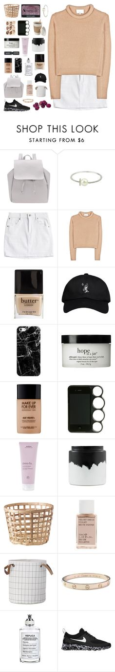 """""""THE SUN ON SNOW"""" by elainesabine ❤ liked on Polyvore featuring 3.1 Phillip Lim, Butter London, October's Very Own, Casetify, philosophy, MAKE UP FOR EVER, Aveda, NARS Cosmetics, Normann Copenhagen and Korres"""