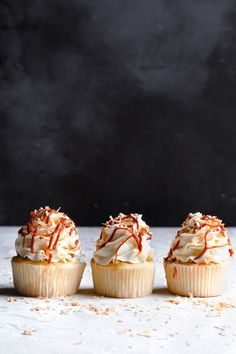 These Coconut Dulche De Leche Cupcakes are soft, moist and melt in your mouth coconut cupcakes filled with velvety smooth Dulche De Leche.|#cupcakes #coconutcupcakes #dulchedeleche #cupcskerecipe#coconutrecipe#coconutcupcskerecipe#cupcakeidea#coconutdulchedelecheonesarcasticbaker.com |