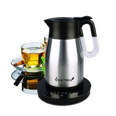 Vektra Vacuum Eco Kettle 4 with Temperature Control Ltr Brushed Stainless Steel Vektra - Hand Vacuum - Ideas of Hand Vacuum