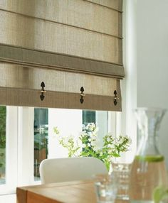 Linen Chic Roman Blind | окна | Pinterest | Roman blinds, Roman and ...