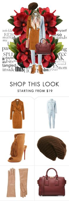 """""""Untitled #558"""" by angstylist on Polyvore featuring IRO, Givenchy, Christian Louboutin, Barneys New York, Burberry and Valentino"""