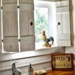 I Love That Junk: Make charming window shutters for $10! - Design Dreams by Anne
