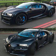 "686 Likes, 1 Comments - Arab cars   سيارات العرب (@3rab_cars) on Instagram: ""Blue Carbon Bugatti Chiron From Qatar. Spotted by @staeldo in London  #bugatti #chiron #qatar…"""