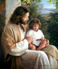 Jesus Art Print featuring the painting Forever And Ever by Greg Olsen Greg Olsen Art, Arte Lds, Pictures Of Jesus Christ, Jesus Pics, Padre Celestial, Jesus Christus, Lds Art, Jesus Painting, The Embrace