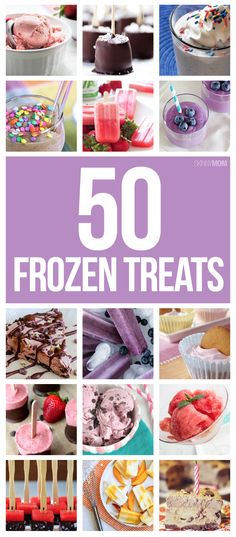Kick your cravings with these summertime frozen treats!