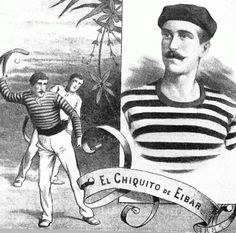 Gernika Jai Alai - Zesta punta: Pelotaris en la Exposición Universal de Barcelona - 1888