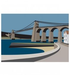Menai.Bridge_IanMitchellart.com