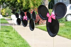 Minnie wooden cut out Birthday Party Photo - Google Search