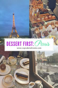 Dessert First: Paris