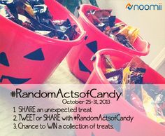 the rules to win! #randomactsofcandy