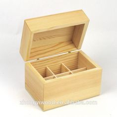 Best Selling Wooden Box For Essential Oil Storage - Buy Unfinished Wood Boxe
