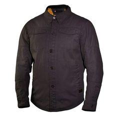 Roland Sands Black Chandler Overshirt