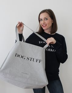 DOG STUFF #tragetasche #dogstuff #hundeliebhaber Reusable Tote Bags, Accessories, Carry Bag, Doggies