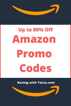 Save up to 80% using Amazon Promo Codes. Note that codes don't last forever, so if you see something you like, grab it! Amazon Prime Membership, Money Shop, Shopping Deals, Amazon Associates, Try It Free, Saving Money, How To Apply, Coding, Note