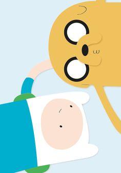 anothergraphicdesigner: Finn & Jake