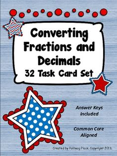 Fractions and Decimals ($)