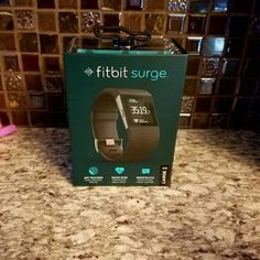 BNITB Fitbit Surge Size Large Brand New In The Box still factory sealed reg retail $250 fitbit Accessories Watches