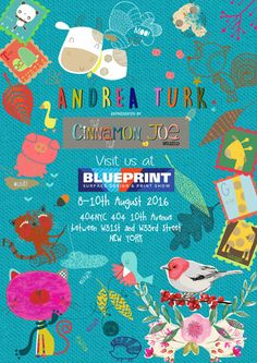 The Cinnamon Joe Studio  are really excited to have their next Blueprint  show coming up in New York. The show will run from August 8-10th...