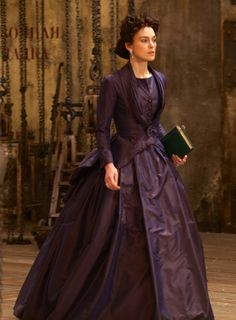 Keira Knighley in the title role of Anna Karenina (2012).