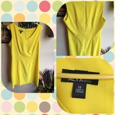 BEAUTIFUL YELLOW DRESS Professional!   Never worn Dresses
