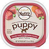 NUTRO PUPPY Tender Beef Vegetable recipe Cuts in Gravy Dog Food Trays 35 Ounces Pack of 24 -- Continue to the product at the image link. Recipes With Beef And Vegetables, Vegetable Recipes, Wet Dog Food, Puppy Food, Carrot Recipes, Dog Food Recipes, Chicken Recipes, Dog Gravy Recipe, Peas And Carrots Recipe