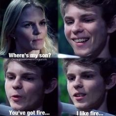 Robbie Kay likes fire! ❤️ <--- hey now! peter and robbie are two different people