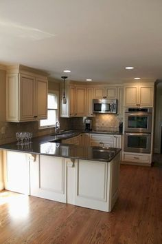 Wood Cabinets For Kitchen - CLICK THE PIC for Various Kitchen Ideas. 92569385 #cabinets #kitchenstorage