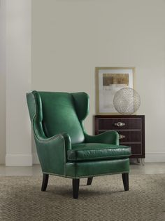 #emerald wing chair at #bradington_young furniture