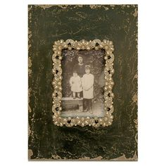 Antique style picture frame