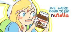 Fionna and Nutella