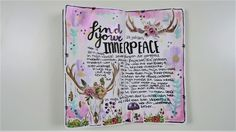 TN Process ~ Creative Journaling ~ Find your innerpeace https://youtu.be/HP9m68bWe_o