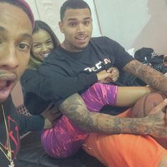NIGERIAN TOP SECRET: Chris Brown and Karrueche Tran to be Parents Soon