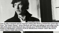 sherlock confessions: this is what I want to see. John hit him for leaving like that, for the pain he caused for three years. But I also want John to forgive Sherlock.