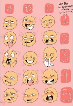 Cartoon Drawing Tips for Kids – Learn How To Draw Drawing Prompt, Drawing Practice, Drawing Tips, Drawing Reference, Drawing Challenge, Art Challenge, Character Drawing, Character Design, Drawing Expressions