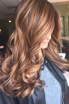 Top Brown to Caramel Colors of Balayage Hair ★ See more: