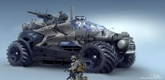 ArtStation - DMV ARMY vehicle , DARKO DARMAR MARKOVIC